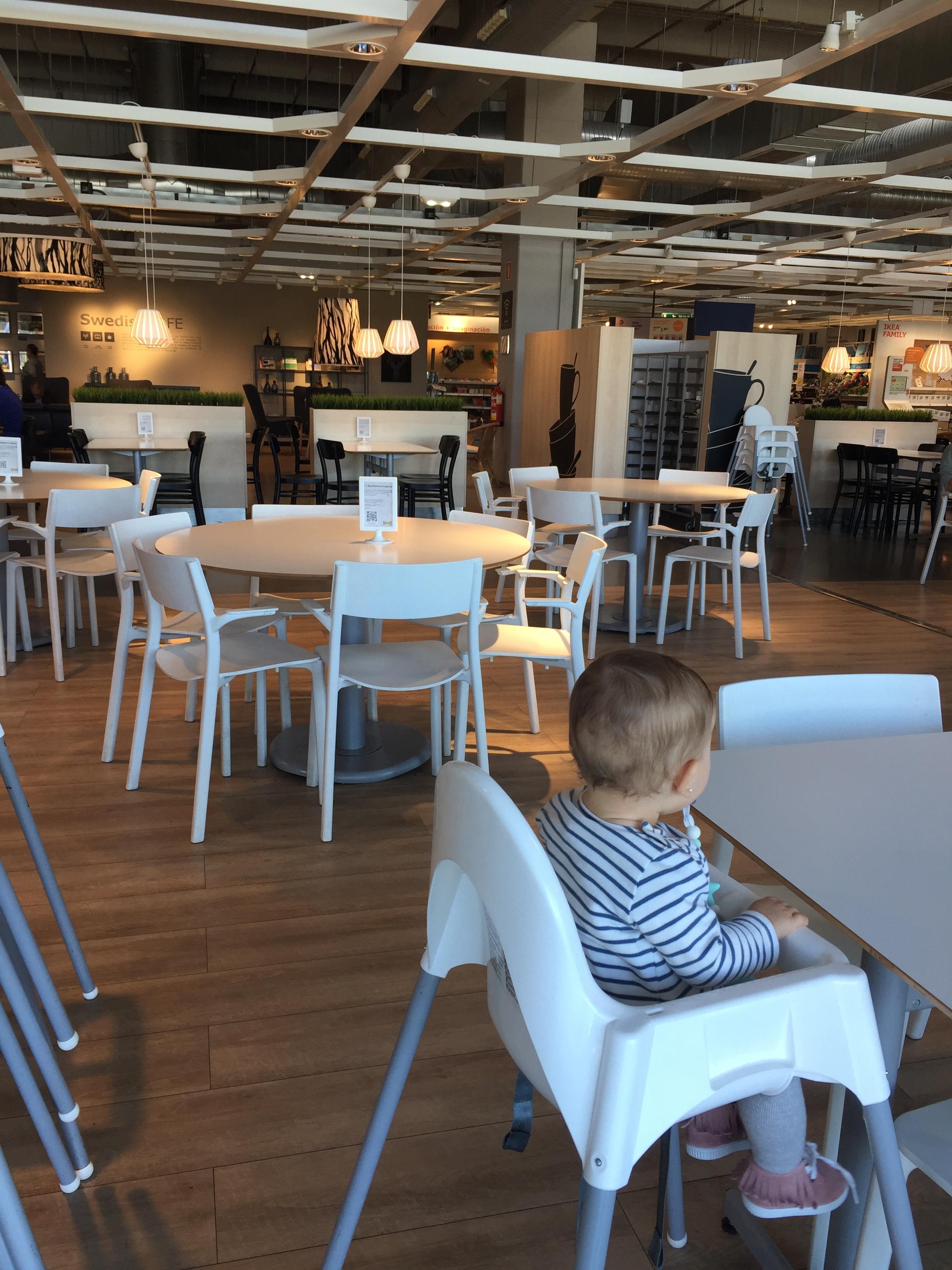 Tronas en el Restaurante de Ikea