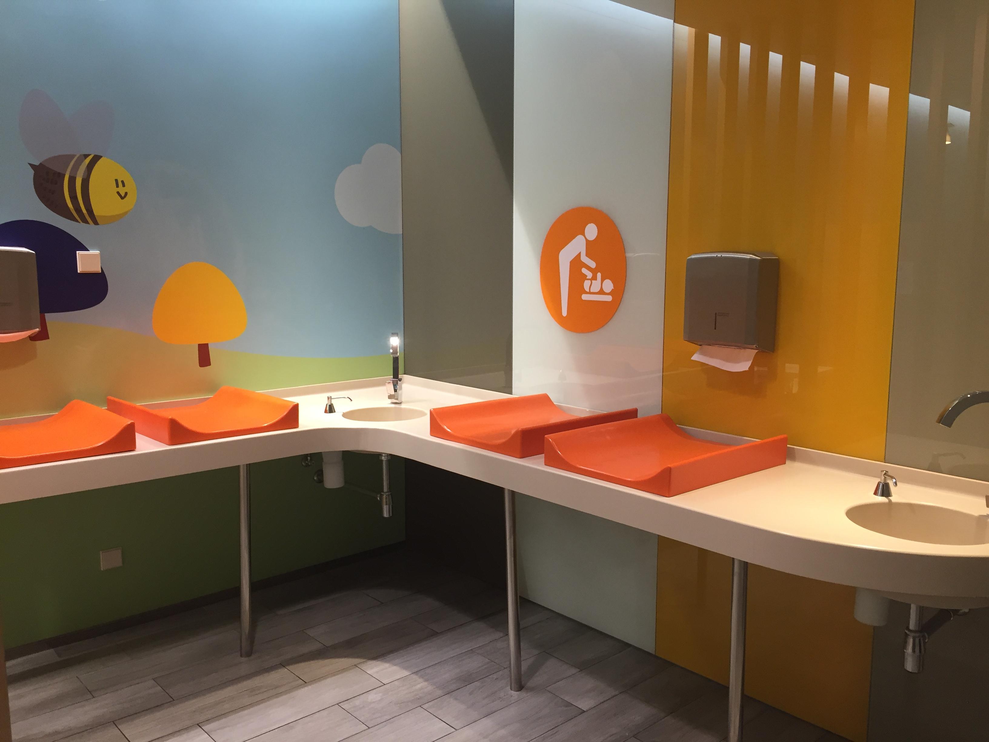 Cambiadores Sala de Lactancia Intu Asturias zona restaurantes
