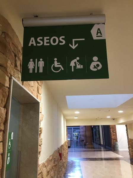 Indicaciones Sala de Lactancia ParqueAstur